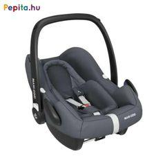 Az új Maxi-Cosi Rock gyerekülés kitűnő védelmet biztosít autózás közben az újszülött számára, mivel a legújabb gyerekülésekre vonatkozó előírás, az ECE R129 (i-Size) alapján készült. A hordozó az autó 3-pontos biztonsági övével is rögzíthető az autóban, de ha az autó isofix-szel felszerelt, mindenképp javasolt a 2WayFix vagy 3WayFix talppal használni.    Jellemzői:  - Autóba a 2WayFix vagy 3WayFix isofix-talppal szerelhető be  - Az autó 3 pontos biztonsági övével is rögzíthető  - Új… Toddler Car Seat, Baby Car Seats, Fisher Price, Baby Transport, Plastic Moulding, Click And Go, Sun Canopy, Latest Cars, Back Seat