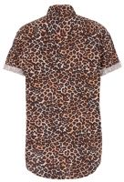 Your animal instincts are telling you that you need this Leopard Print Button Up from Topman. Rolled sleeve detail, button front.    100% cotton  Imported    $56