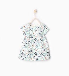 Jacquard dress - DRESSES - BABY GIRL | 3 months - 3 years - KIDS | ZARA United Kingdom