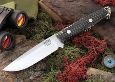Bark River Knives: Gunny Hunter - Elmax - Corn Cob