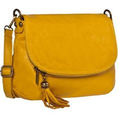Torebka CREOLE - I040 Żółty