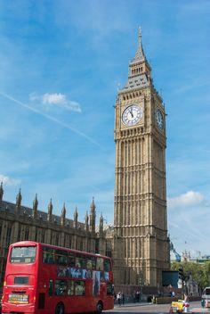 Iconic Big Ben.