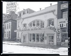 Pope's Cafeteria, 3538 Washington Avenue. Photograph by Henry T. (Mac) Mizuki, 1953. Mac Mizuki Photography Studio Collection, Missouri History Museum.   collections.mohistory.org