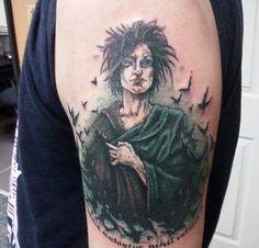 Wow!  What a beautiful Sandman tattoo!
