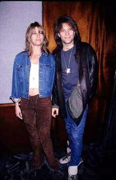 Back in the 90s Jon Bon Jovi and Dorothea Hurley