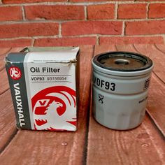 Vauxhall oil filter 93156954 Astra Cavalier Vectra To turbo Nova Oil Filter, Filters, Car Parts For Sale, Cavalier, Coffee Cans, Washer, Nova, Ebay, Washers