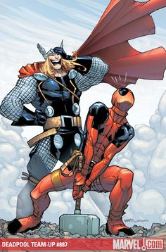 thor deadpool skottie young