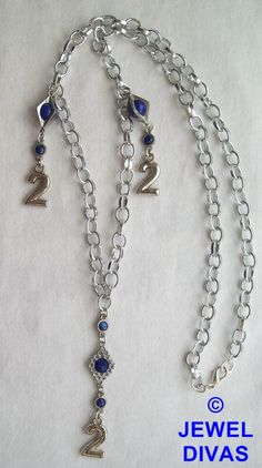 LUCKY NUMBER 2 - $10 - www.madeit.com.au/JewelDivas