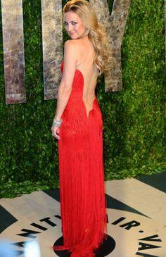 Kate Hudson vestido rojo