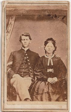 This corporal also wears a veteran's stripe on his lower sleeve indicating he… American Civil War, American History, British History, Us History, Strange History, Asian History, Tudor History, History Facts, Memento Mori