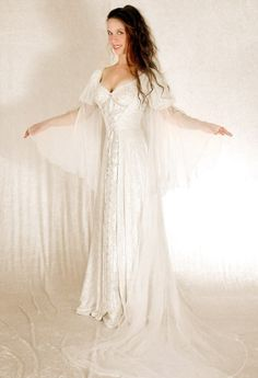 Medieval and Celtic Wedding Gowns | Custom Storybook Wedding Gowns | Canadian, Maritime, Fairytale | Faerie Brides | Lady Galadriel