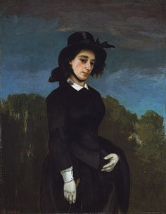 Woman in a Riding Habit (L'Amazone), 1856  Gustave Courbet (French, 1819–1877)  The Metropolitan Museum of Art