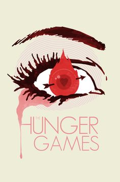 The Hunger Games Minimalist Movie Poster hunger por bigbadrobot, $15.00