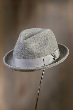 de26c8d006a Rude Boy Wool Fedora Hat