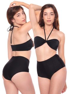 High-Waist Swim suit   American Apparel