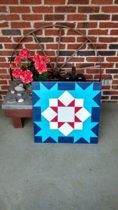 Blue bird barn quilt