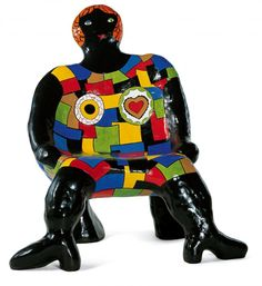 Fauteuil «Clarice»  Niki de Saint-Phalle