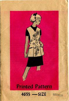 Mail Order Apron Pattern 4655   Vintage Fullcoverage by bellaloona, $8.00