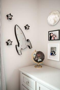 In the Nursery with Renee Herlocker Project Nursery - Outer Space-Inspired Boys Nursery