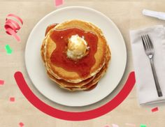 "IHOP: $0.57 Pancake Short Stacks on July 7th | The ""Coupon Hubby"" - Coupon savings for beginners and advanced shoppers Ihop Pancakes, Buttermilk Pancakes, Restaurant Deals, Short Stack, July 7, Rolls, The Originals, Breakfast, Food"