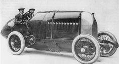 """historicaltimes: Το """"Τέρας του Τορίνο» 1910 Fiat Tipo S76 ταχύτητας εδάφους ρεκόρ αυτοκίνητο. 28,4 λίτρα."""