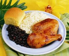 Tropical chicken and rice recipe
