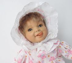 """Berenguer Expression Soft Body 9"""" Doll"""