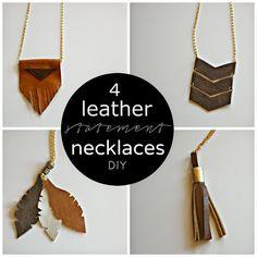 http://www.kentheartstrings.com/2014/11/leather-statement-necklace-fringe.html
