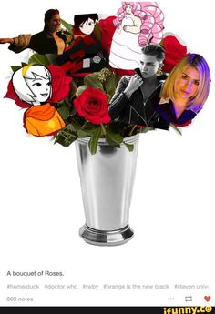 I'm trash because I know where each rose is from goodbye I must enter the trash void now