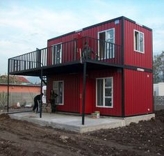 Image result for shipping container house