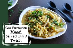 Our Favourite Maggi Served With A Twist !  #Food #Restaurants #Cafes #Cart #FastFood #Maggi #Pasta #CityShorSurat