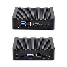 116.00$  Buy now - http://aligju.worldwells.pw/go.php?t=32380132768 - Barebone Mini PC bay trail j1900 Quad core 2 GHz, support DDR3 RAM and mSATA SSD/ 2.5 inch SATA HDD, X86 Mini PC Linux 116.00$