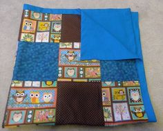 Owl Baby Quilt Owl Baby Blanket Owl Baby by HollyHomemadeGoodies, $55.00