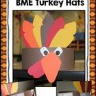 These cute little turkey hats are perfect for ANY Thanksgiving or turkey story! This is one of the MANY activities that is included in my Thanksgiving Extravaganza: Native Americans, Pilgrims, and Thanksgiving FUN!! unit that can be found at my TpT store!!