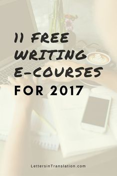 11 Best Free E-Courses for Writers