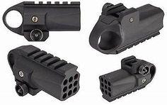 HFC Compact Picatinny Rail Mounted Airsoft Grenade Launcher for GBB Pistols Airsoft Grenade, Airsoft Guns, Fn Herstal, Fn Scar, Ar Parts, Replica Guns, Picatinny Rail, Shotgun, Flashlight