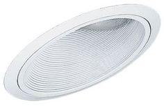 Progress Lighting P8004-28 Sloped Ceiling Baffle For Insulated Ceilings, White
