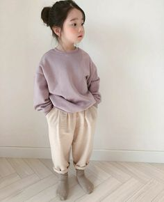 Cute Asian Babies, Korean Babies, Asian Kids, Cute Babies, Little Girl Models, Little Girl Fashion, Toddler Fashion, Kids Fashion, Outfits Niños