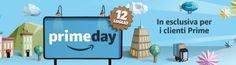 Inizia il Prime Day di Amazon: migliaia di offerte solo per oggi 12 luglio!