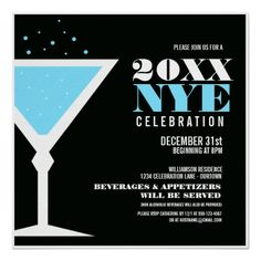 New Years Eve Party Invitation by #reflections06