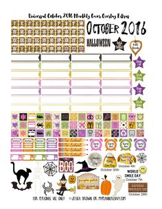 This girl is the best!!!  Never mind the free planner printables she does for Erin concern, happy planner (regular & big) and now even a5/personal planners!!!  Please check out her blog!!!  She just keeps getting better!!!