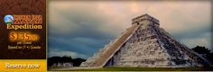 Chichen Itza Mayan Expedition.  10-11 hour tour includes ruins, cenote swim, tequila tasting, visit to historic sites, drinks/appetizers on the way home.  $135 per person.