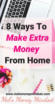 When you're thinking of ways to make extra money from home, it can be difficult to know which idea to choose. Here are 8 ways to make extra money from home. Make Money Fast, Make Money Blogging, Make Money From Home, Money Saving Tips, Make Money Online, Money Hacks, Money Tips, Extra Cash, Extra Money