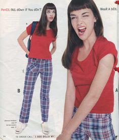 classy outfits plus size 1920s Fashion Women, 2000s Fashion, School Fashion, Vintage Fashion, Fashion Outfits, 90s Teen Fashion, 90s Outfit, Fashion Catalogue, Vintage Mode