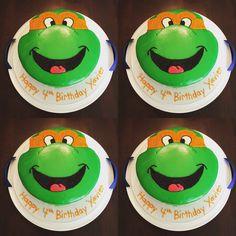 TMNT cake #mikkisjar