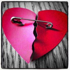 Mended heart.