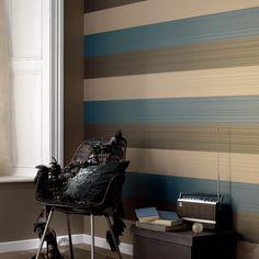 wall, stripe, living room