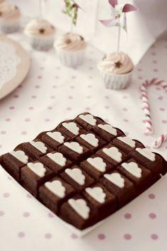 cloud brownies...cute picture
