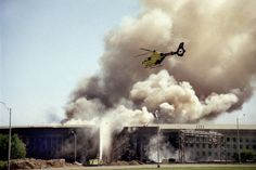 Pentagon 2001. The only place where the building is on fire and they still don't let you leave.