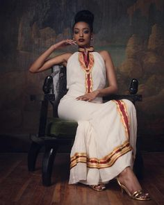 hot and sexy habesha woman photo